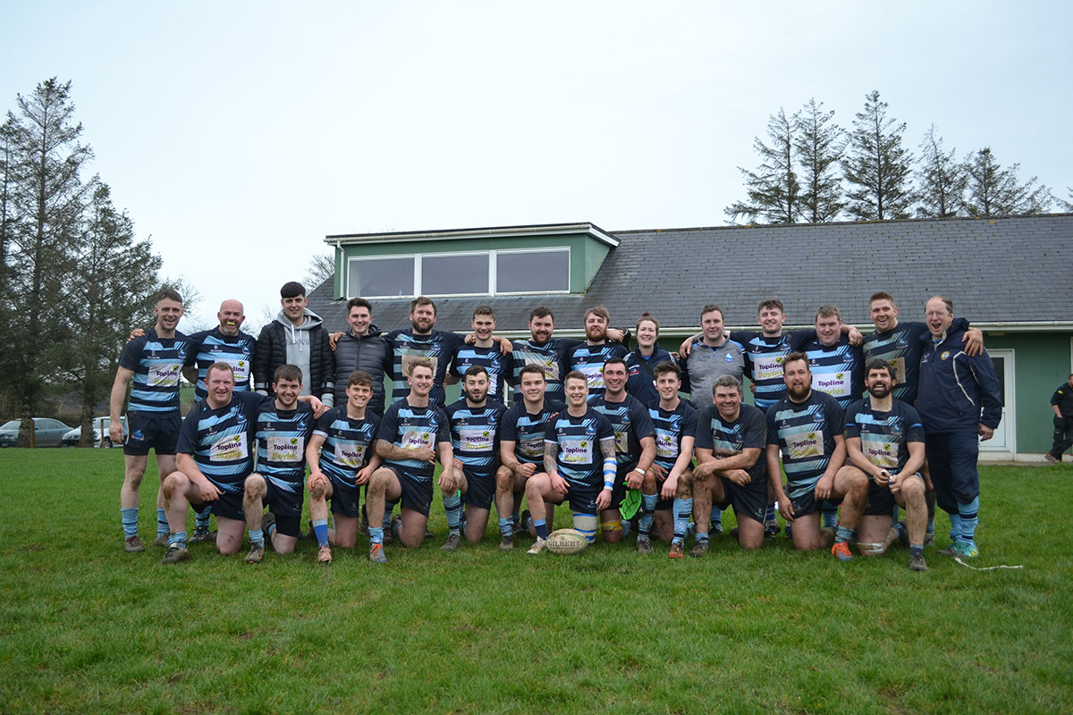 Killorglin Rugby Club Seniors Promoted to Division 2